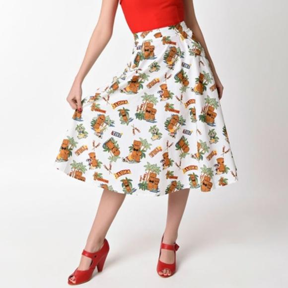 ff7a1ff5634 Banned Tiki Dreamer skirt Pinup Rockabilly vintage. Boutique. Banned Apparel